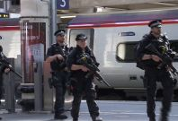 Armed Police Patrol major U.K. Train Stations After Terror Attack