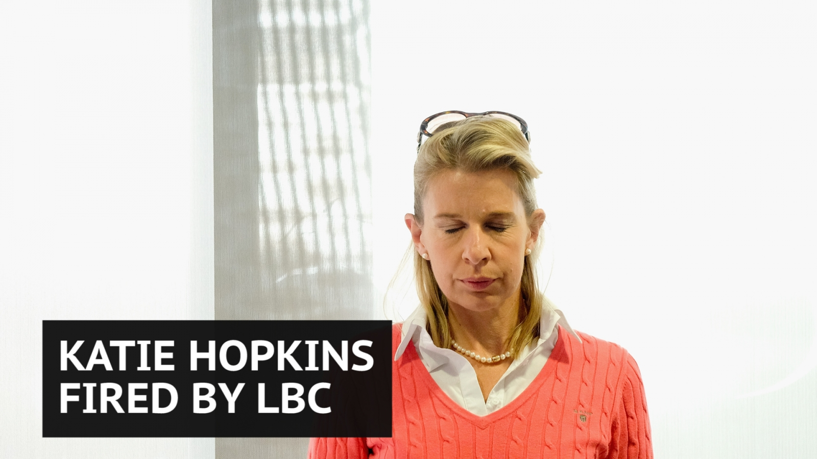 Katie Hopkins fired by LBC after 'final solution' tweet