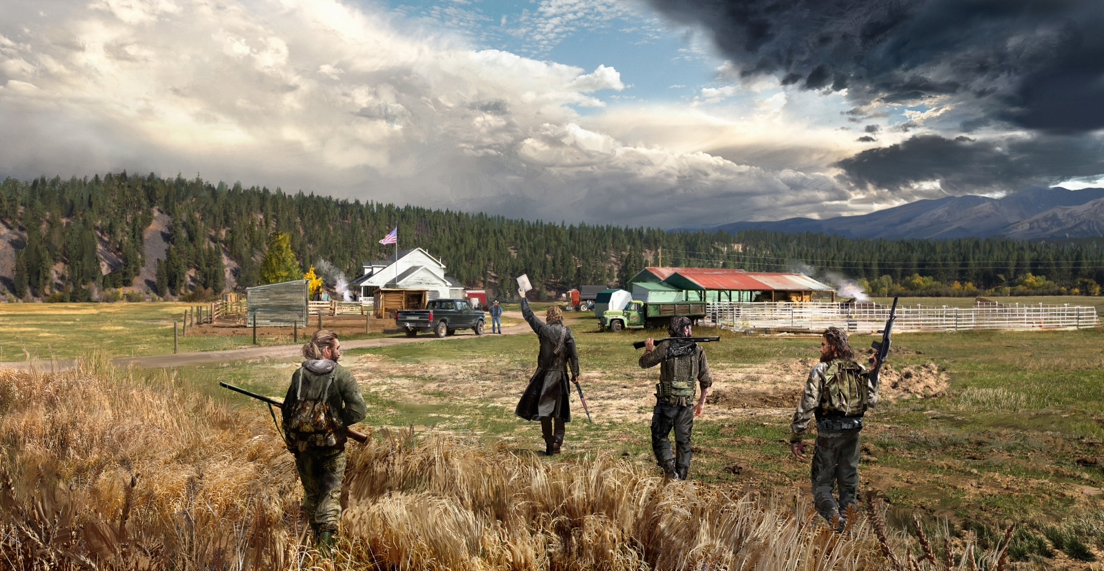 Far Cry 5 revealed: Ubisoft shooter is rooted in fear and ...