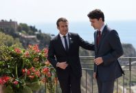 Trudeau Macron