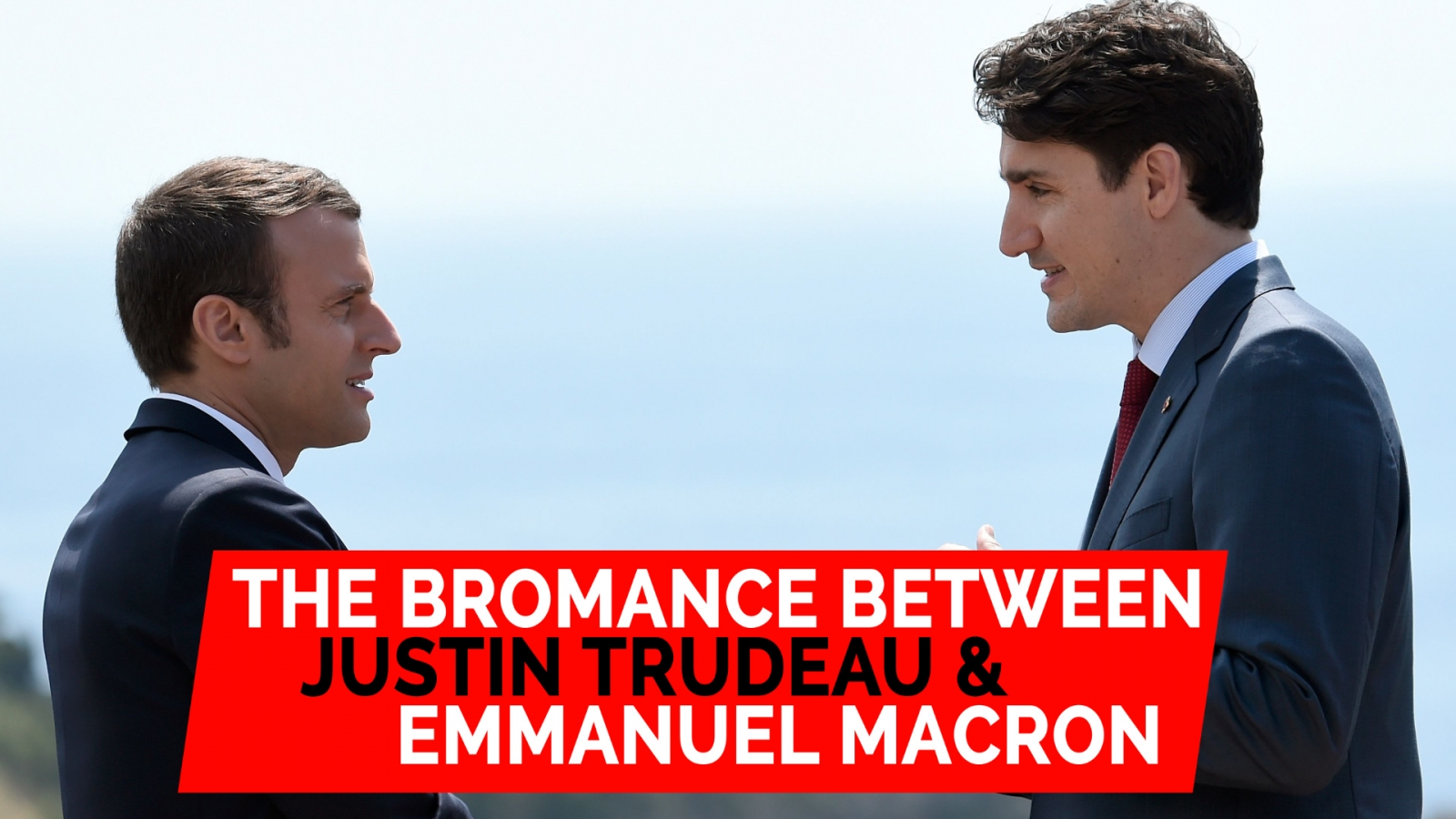 Blooming bromance between Justin Trudeau and Emmanuel Macron at G7 summit