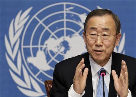 UN's Ban Ki-moon Announces 'Zero Hunger Challenge' at Rio+20 Conference