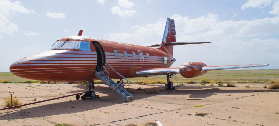 The Lokheed jetstar