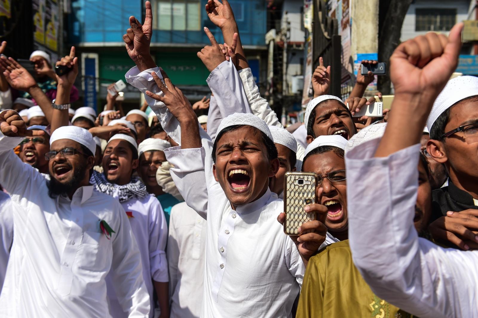 BANGLADESH-UNREST-ISLAM-POLITICS
