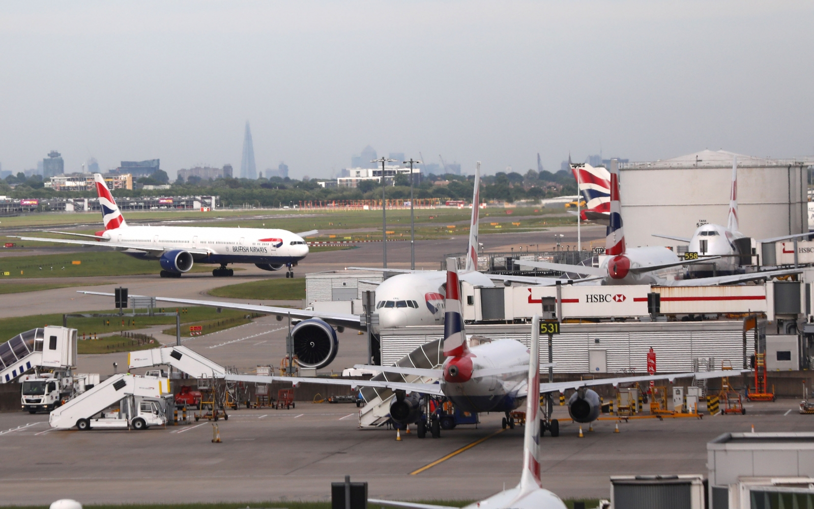 British Airways aims to resume most UK flights