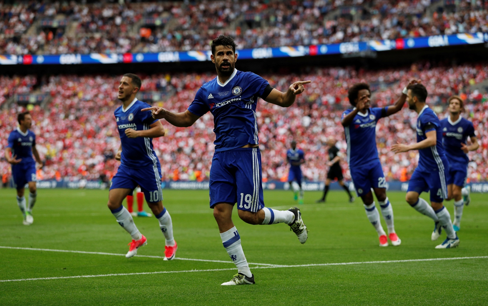 Costa: I could be on Chelsea's Transfer list
