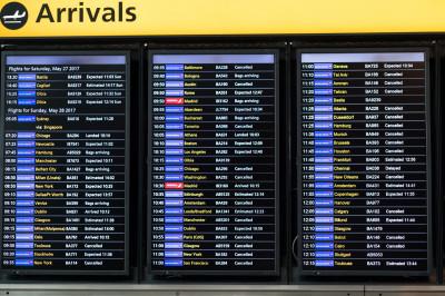 BA delays