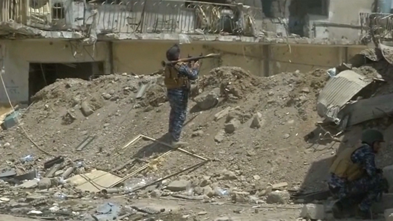 Iraqi Army Begins Final Push To Free Mosul From Isis