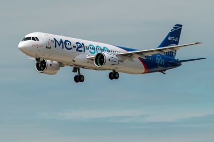 Russia new passenger jet