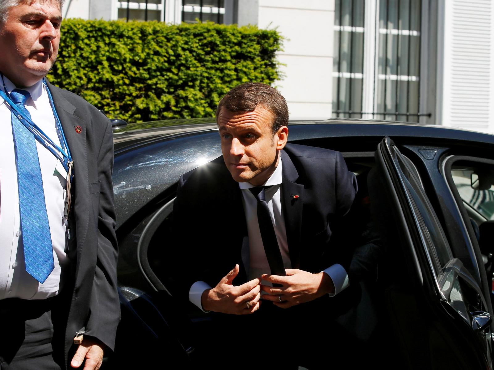Vladimir Putin France visit