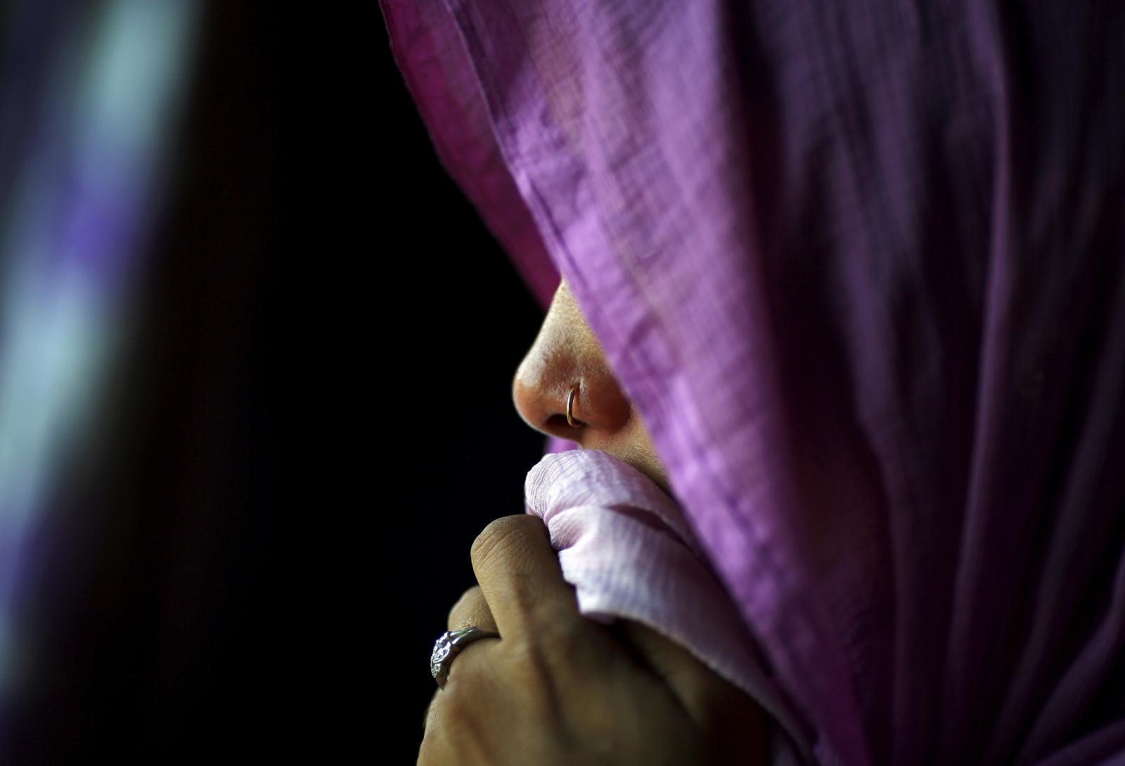 14 men molest two girls in India