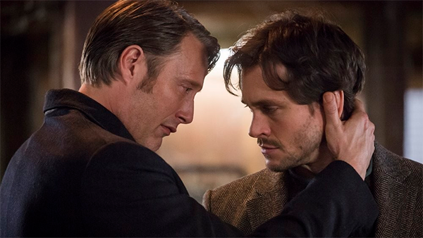 Will Graham and Hannibal Lecter