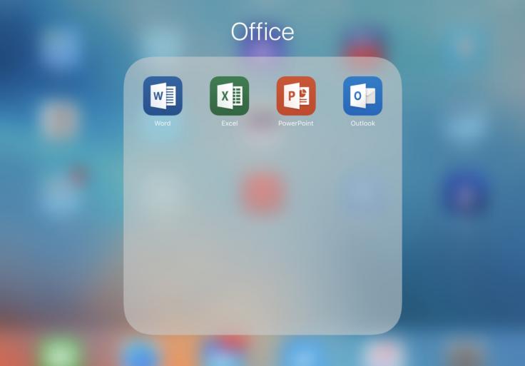 Microsoft Office on iPad