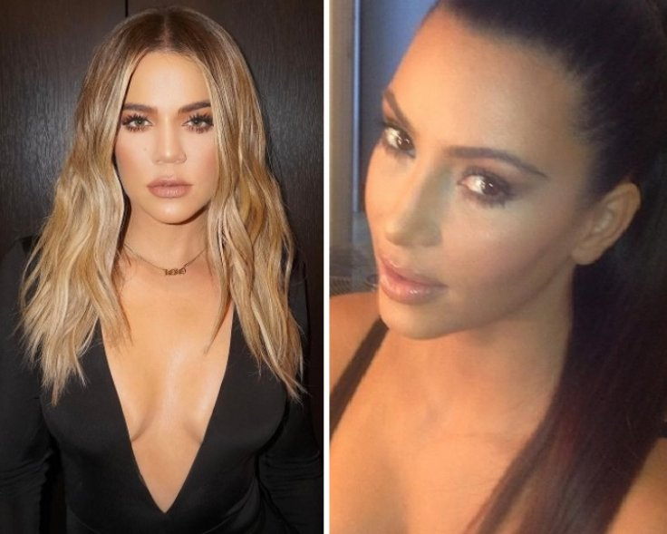 Khloe Kardashian Kim Kardashian