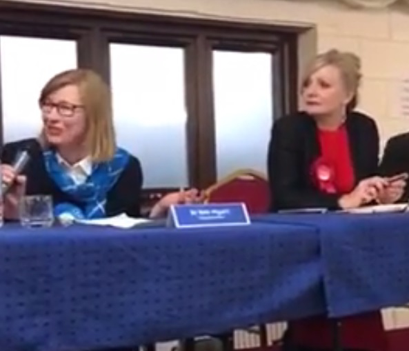 Tory candidate for Jo Cox's seat shocks voters with shooting joke