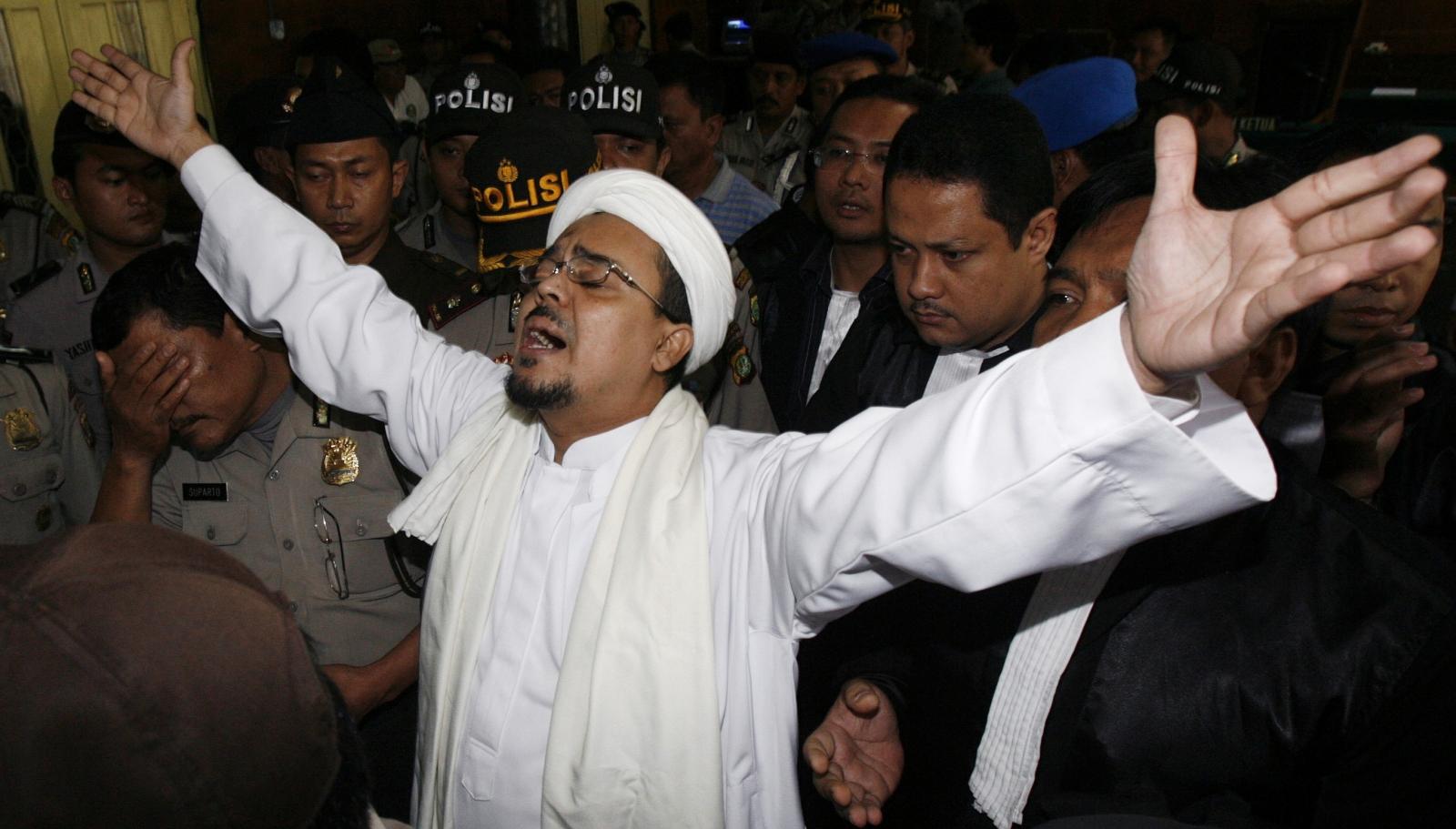 Muslim cleric Rizieq Shihab