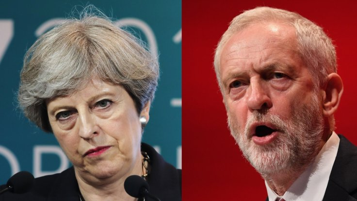 May Vs Corbyn: UK Party Leaders Clash On Getting EU Brexit Deal