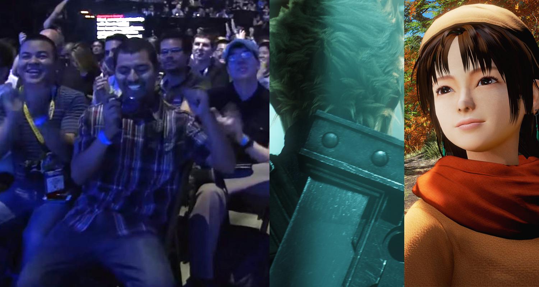 E3 hype Final Fantasy Shemue