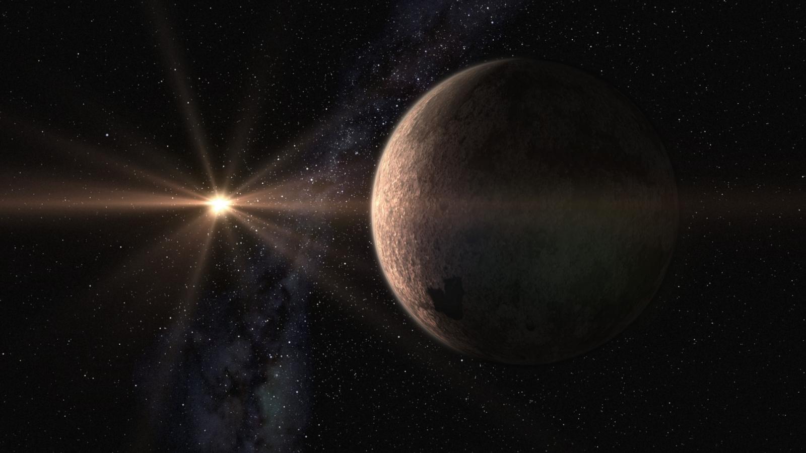 Super Earth orbiting dwarf star
