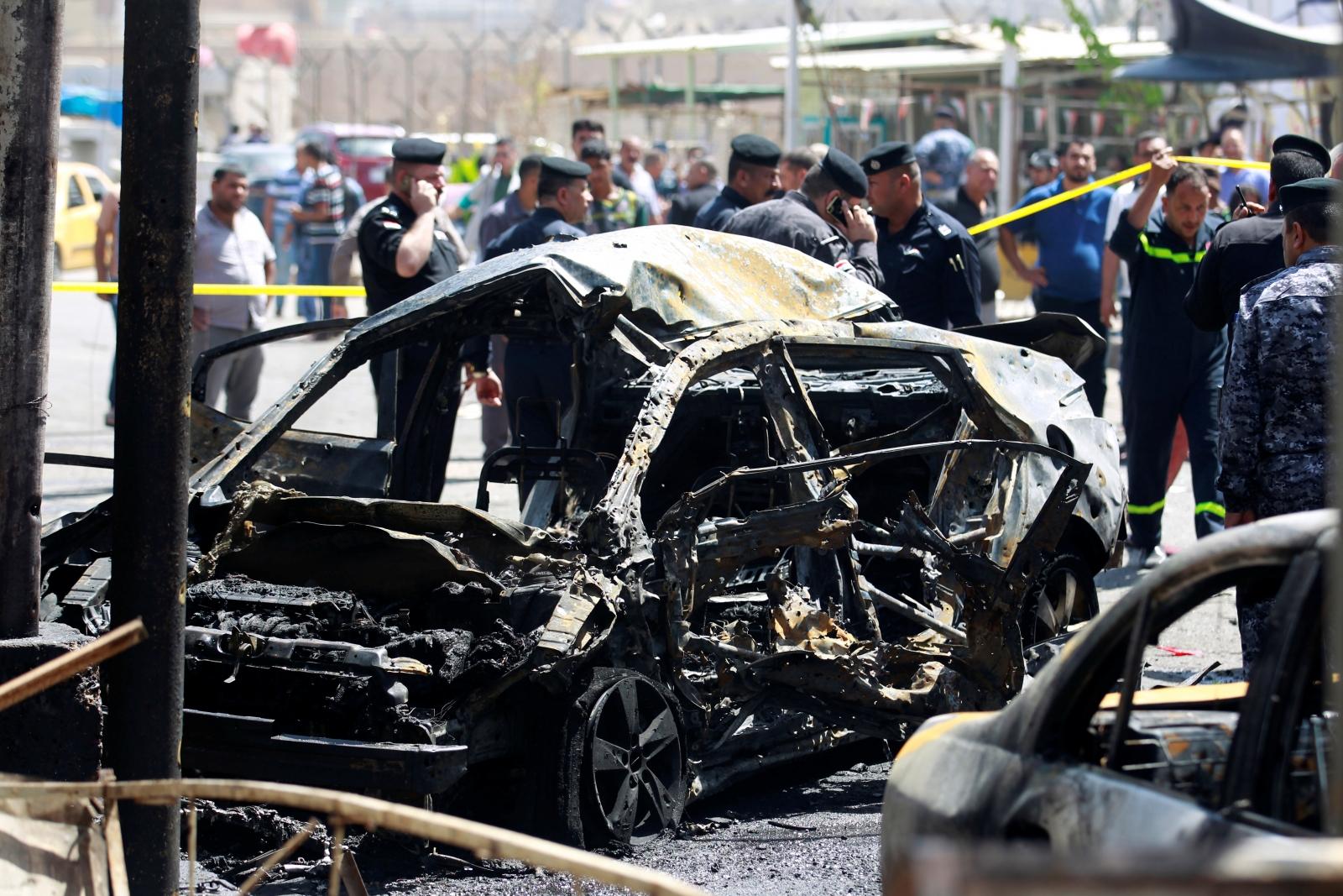 Iraq car bombing Baghdad