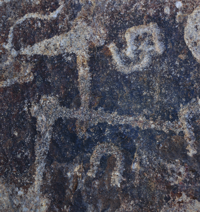 Iran rock art