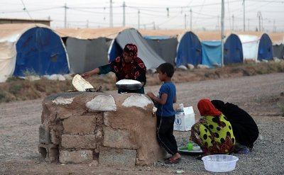 Ramadan refugee camp Iraq Zakat poor