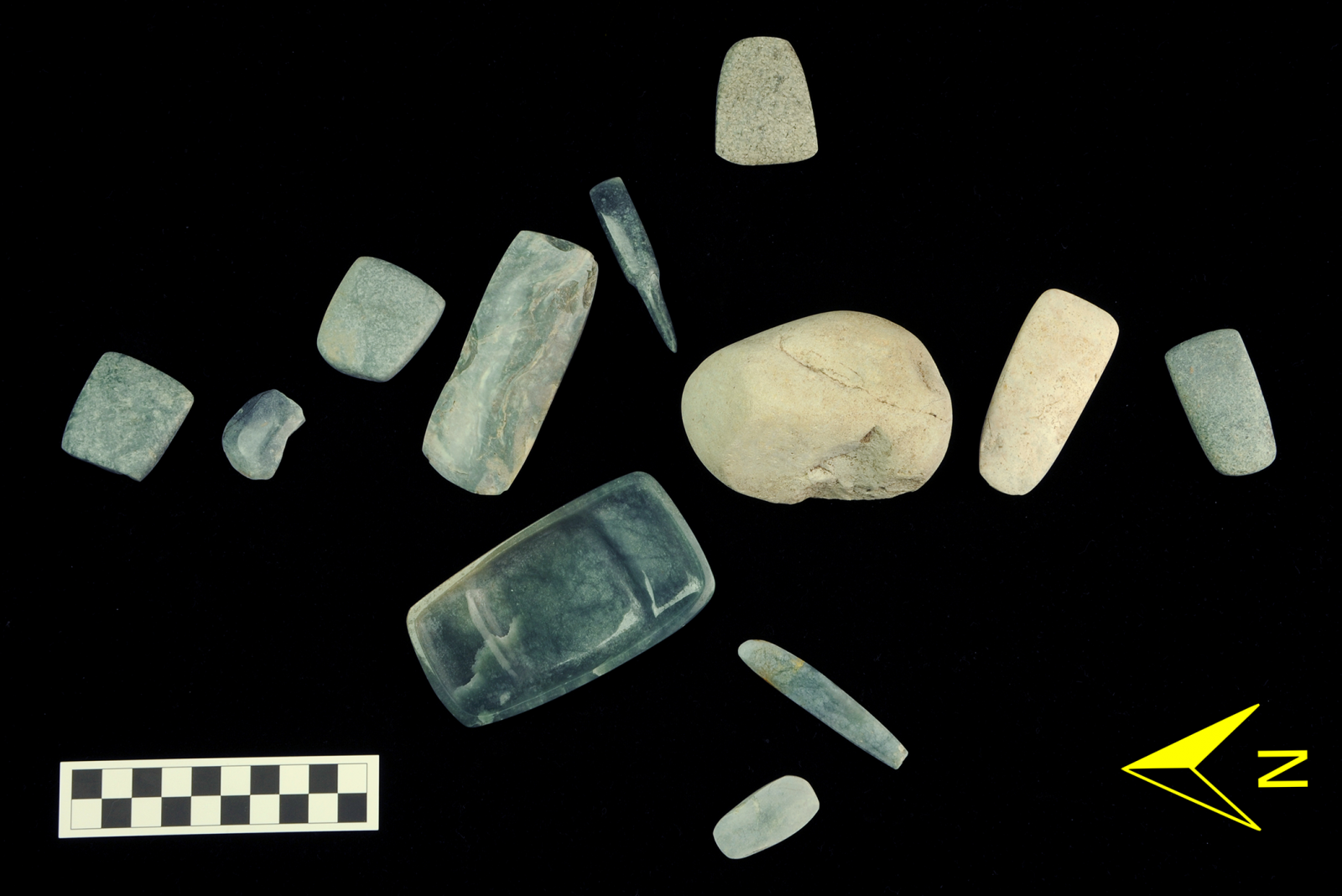 Treasure trove of jade stones used in Mayan rituals discovered in Guatemala