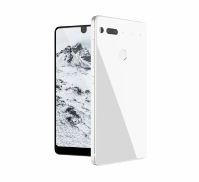 Essential Phone official render white