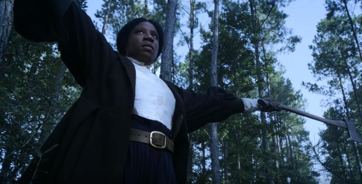 Aisha Hinds as Harriet Tubman