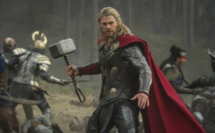 avengers infinity war set photo reveals big spoiler about thor's hammer