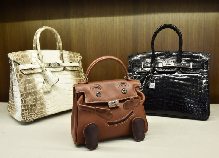 4a605f703bfb World s most expensive crocodile skin handbag sells at auction for ...