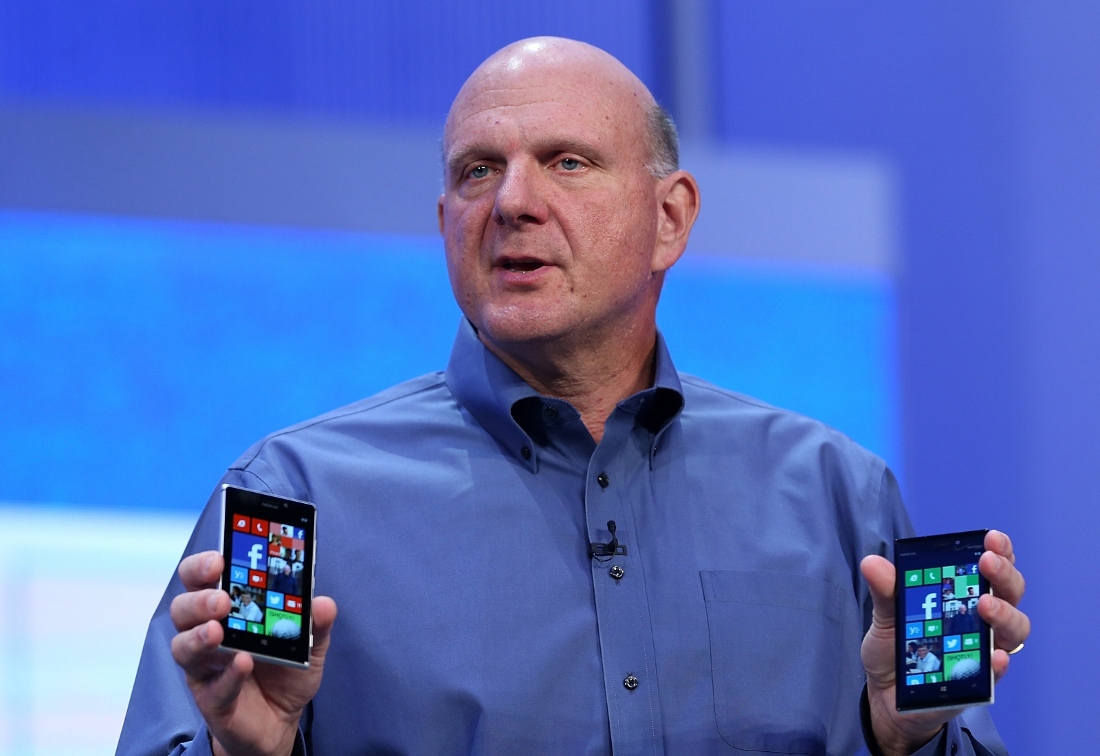 Steve Ballmer talks about Microsoft's hardware capabilities