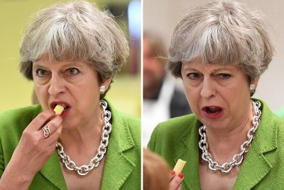 Theresa May cheese