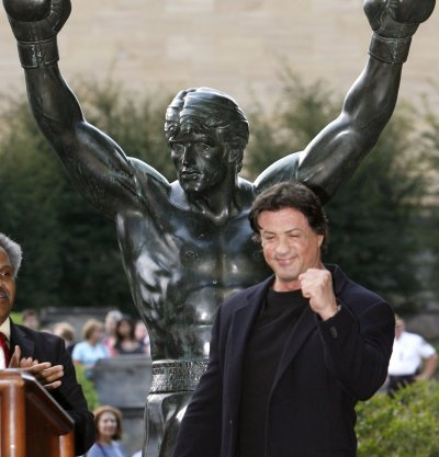 Rocky Statue Sylvester Stallone