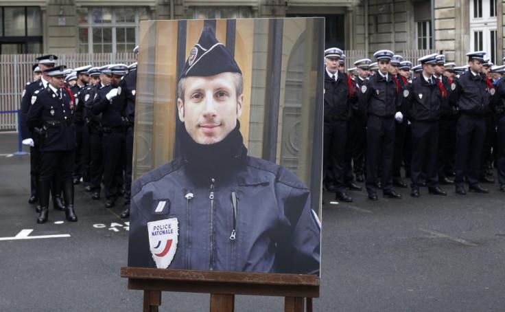 Policeman Xavier Jugele