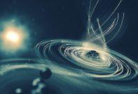 Molecular black hole