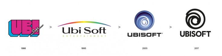 Ubisoft logos