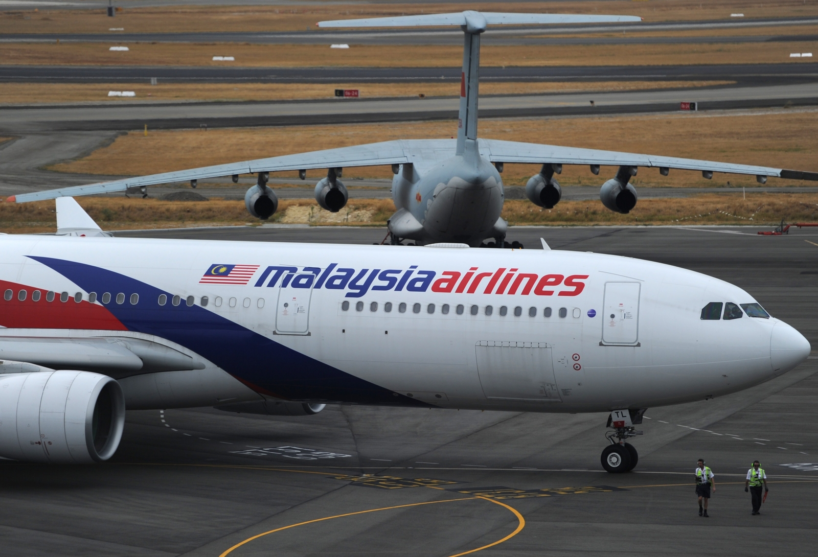 A Malaysia Airlines plane