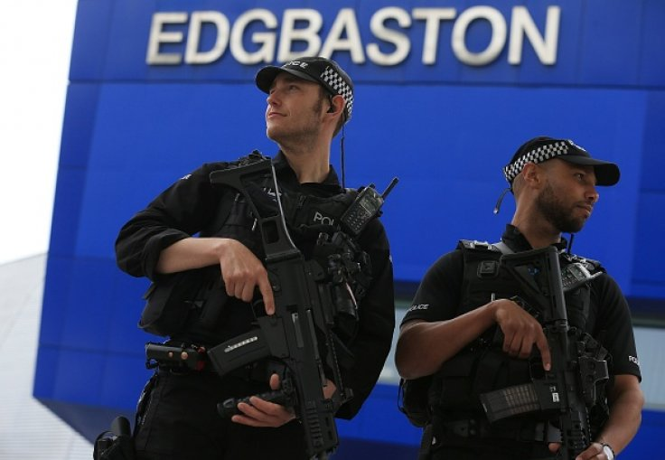 Armed police in England