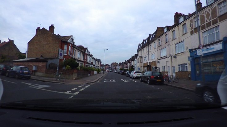 Citroen C3 dashcam image