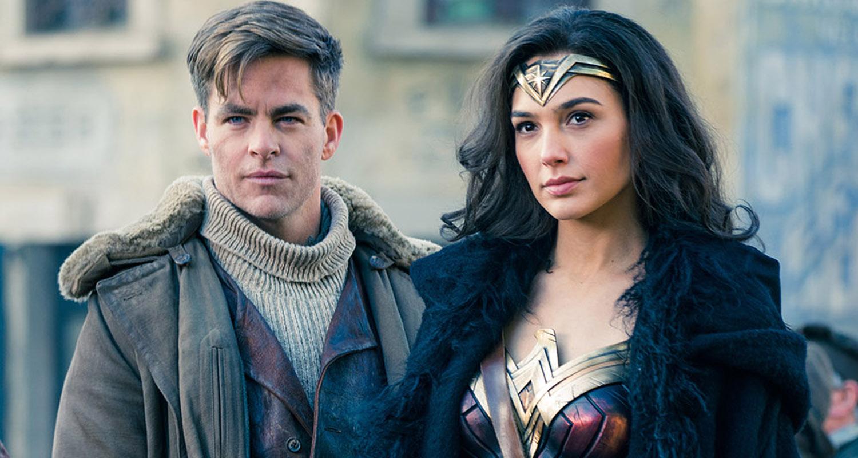 Wonder Woman Gal Gadot Chris Pine