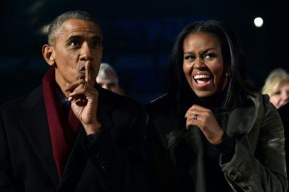 Barack and Michelle Obama