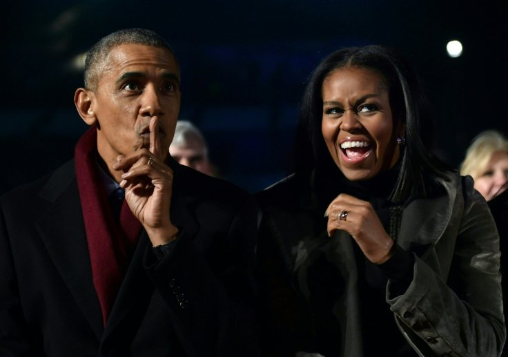 Michelle Obama pays tribute to Barack after he announces memoir release date
