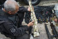 Brazil guns seized