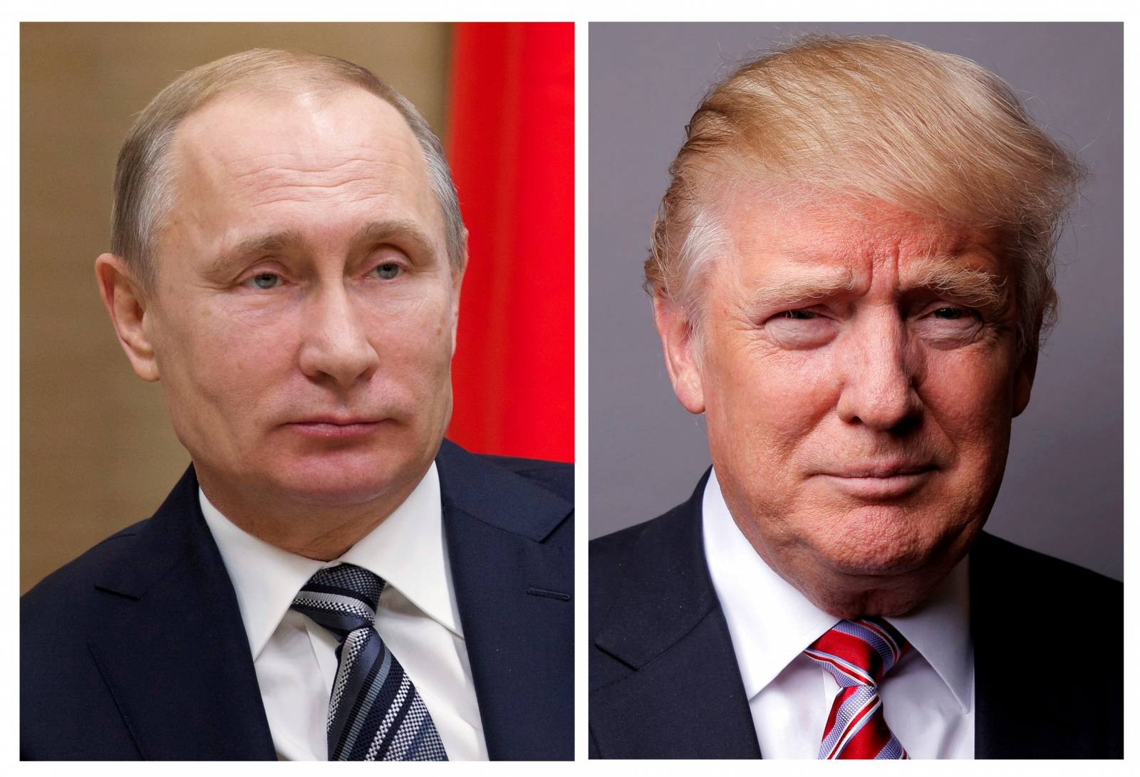 Vladimir Putin on Donald Trump