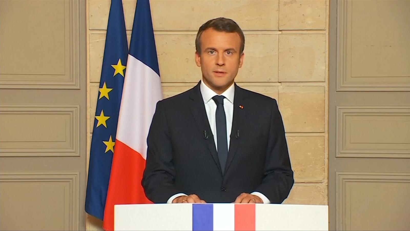 French President Macron: