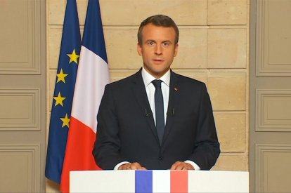 "French President Macron: ""Make Our Planet Great Again"""