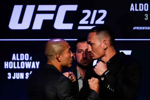 Jose Aldo vs Max Holloway