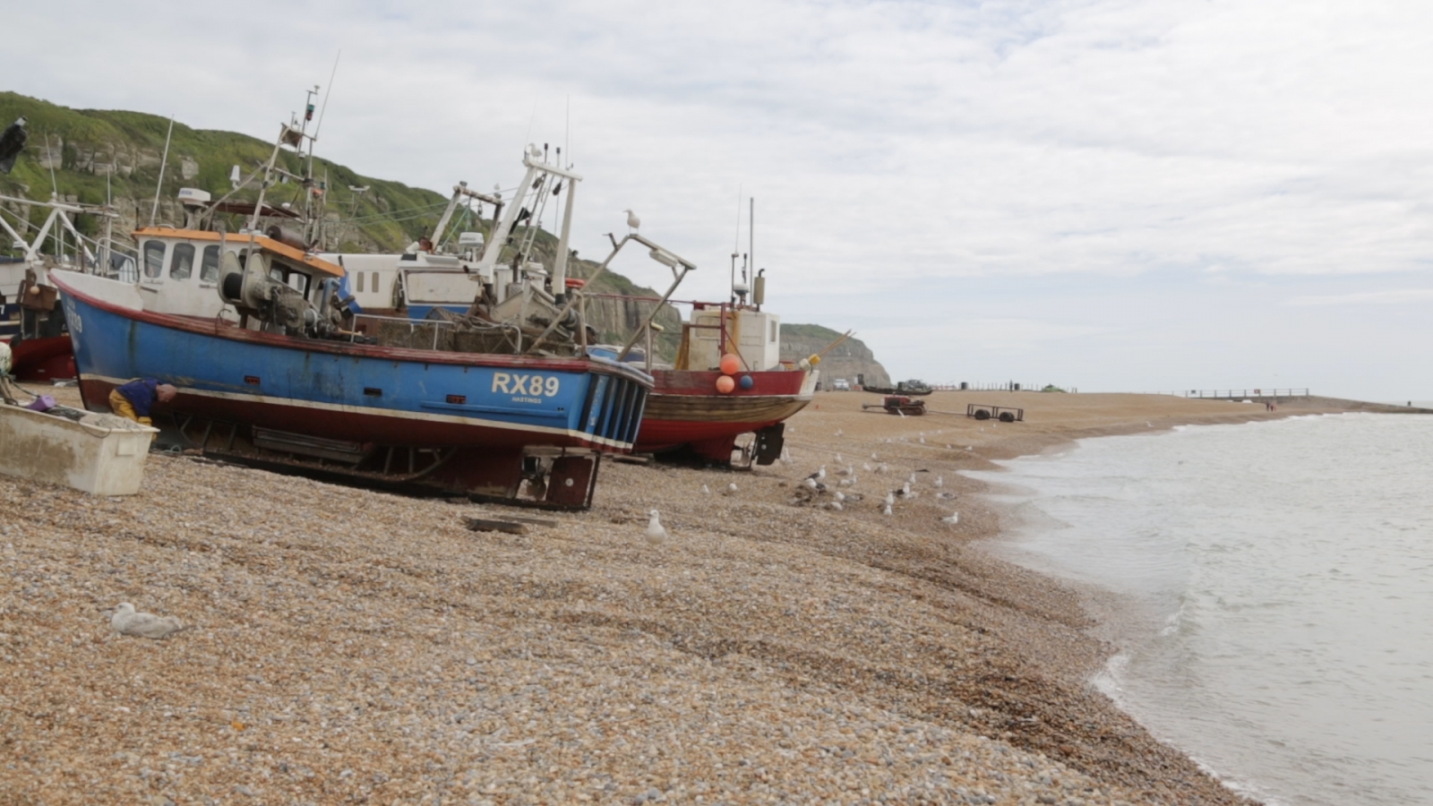 Fishing town of Hastings