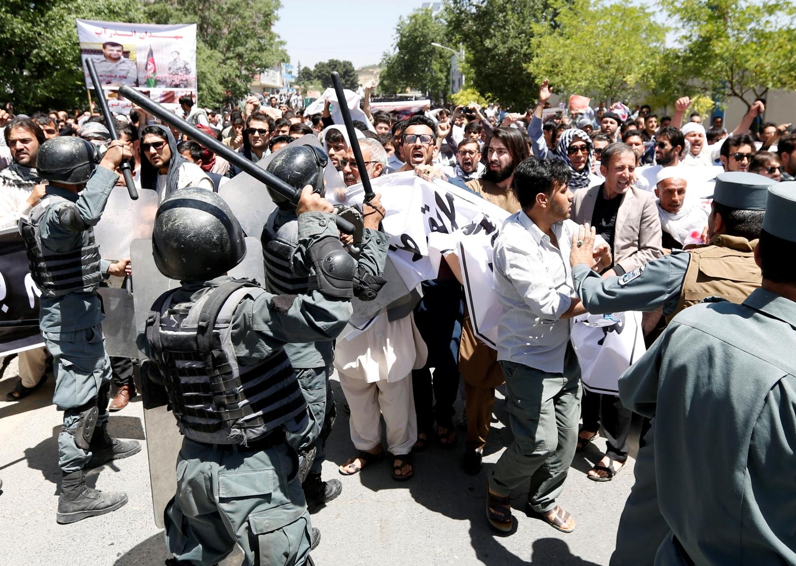 Kabul protests